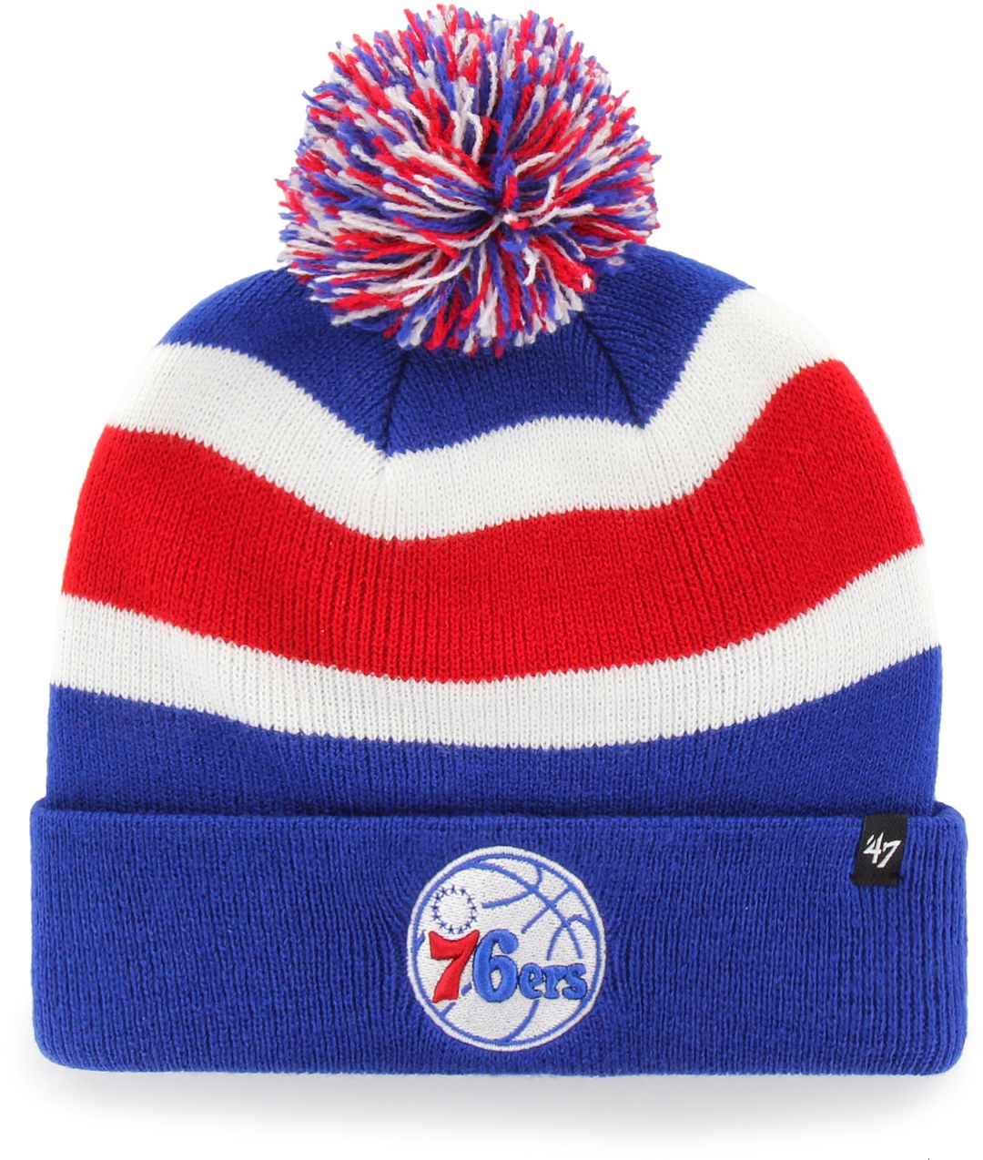 sneakers for cheap 547da f2126 47 Men s Philadelphia 76ers Breakaway Knit Hat   DICK S Sporting Goods