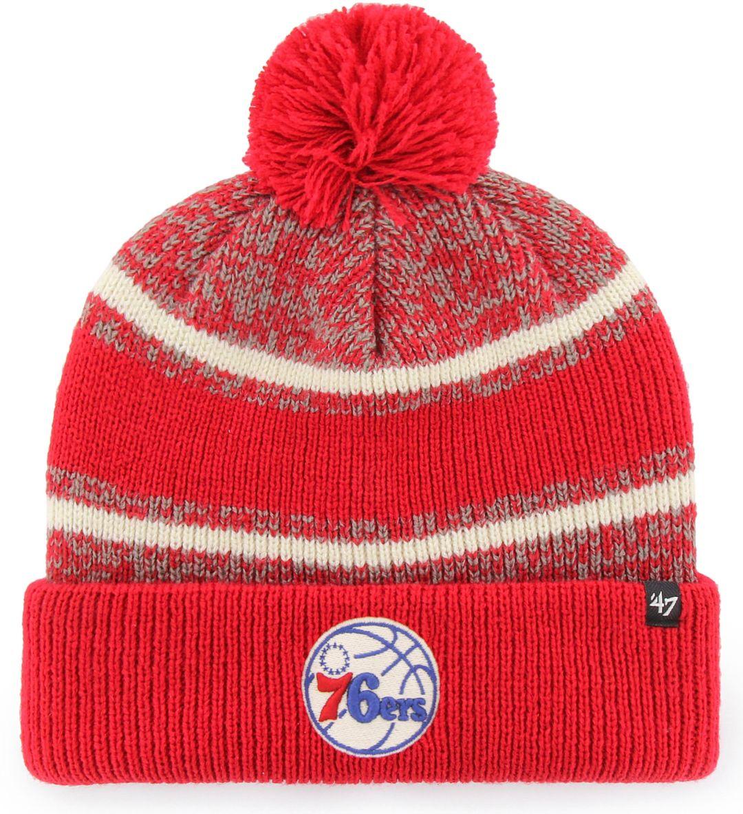 finest selection 3b773 07d65 47 Men s Philadelphia 76ers Fairfax Knit Hat   DICK S Sporting Goods