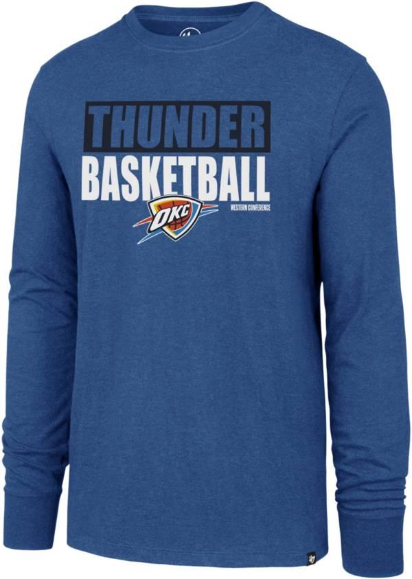 '47 Men's  Oklahoma City Thunder Club Long Sleeve T-Shirt product image