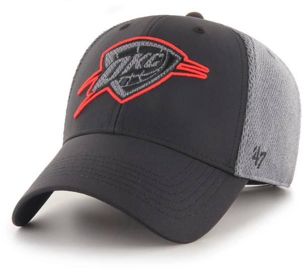 47 Men's Oklahoma City Thunder Arlo MVP Black Adjustable Hat product image