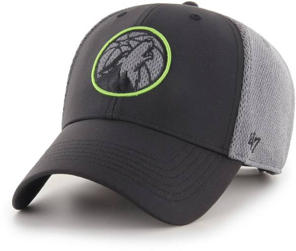 47 Men's Minnesota Timberwolves Arlo MVP Black Adjustable Hat product image