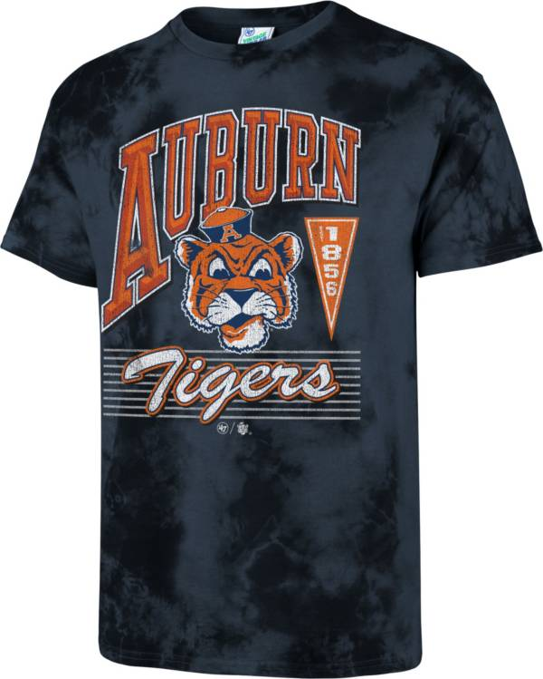 '47 Men's Auburn Tigers Blue Touchdown T-Shirt product image