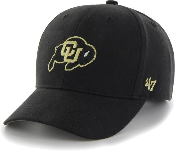 '47 Youth Colorado Buffaloes MVP Primary Adjustable Black Hat product image