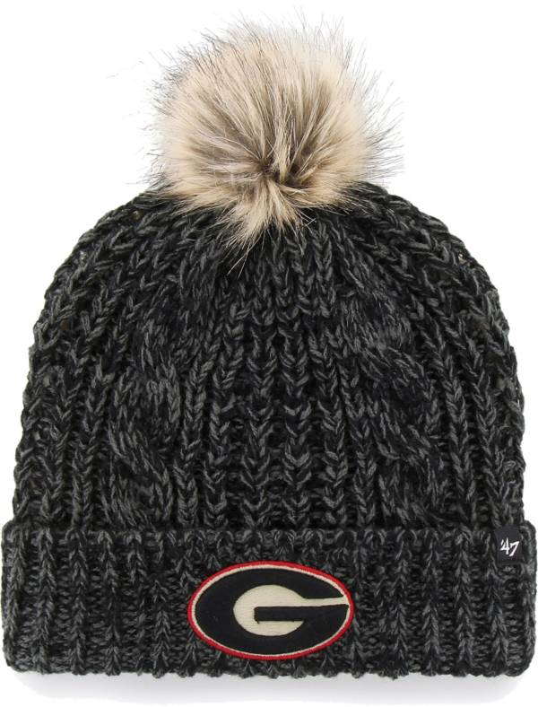 '47 Women's Georgia Bulldogs Meeko Cuffed Knit Black Hat product image