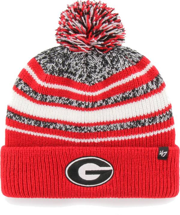 '47 Youth Georgia Bulldogs Red Bubbler Cuffed Knit Beanie product image