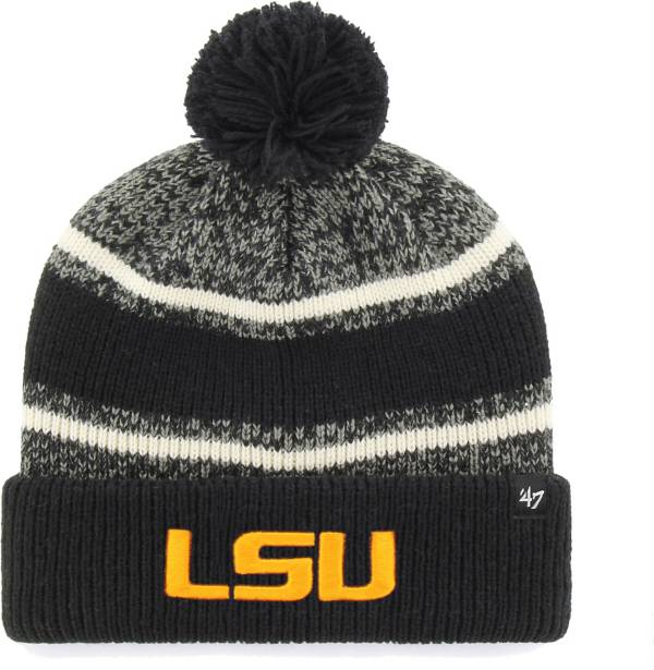 '47 Youth LSU Tigers Bubbler Cuffed Knit Black Beanie product image