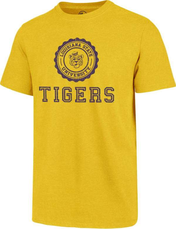 '47 Men's LSU Tigers Gold Alma Mater Club T-Shirt product image