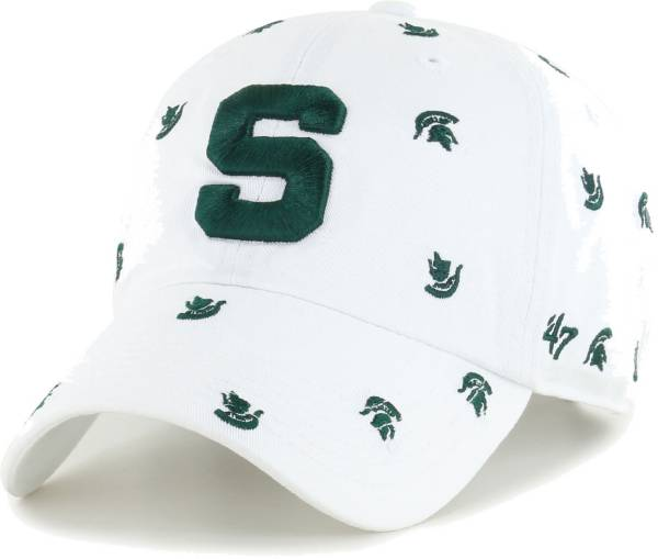 '47 Women's Michigan State Spartans Confetti Adjustable White Hat product image