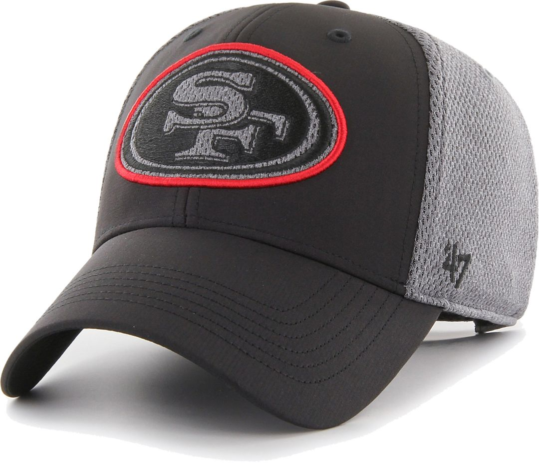 4da05ffd '47 Men's San Francisco 49ers Arlo MVP Adjustable Black Hat