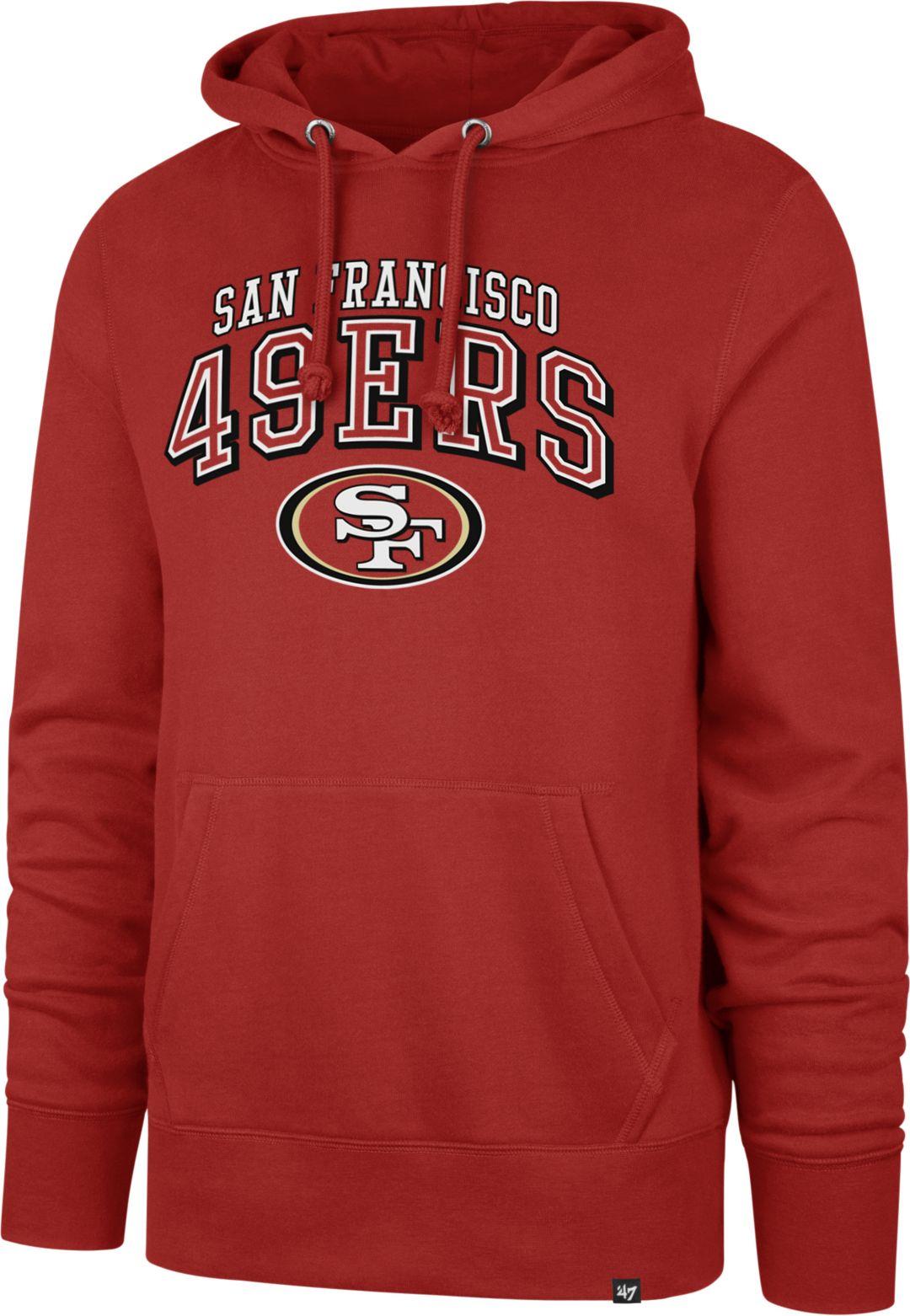 uk availability 8b399 7e712 '47 Men's San Francisco 49ers Headline Red Hoodie