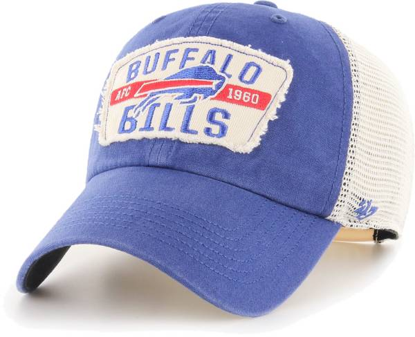 '47 Men's Buffalo Bills Crawford Clean Up Adjustable Royal Hat product image