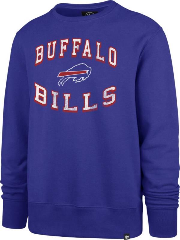 '47 Men's Buffalo Bills Arch Headline Royal Crew product image