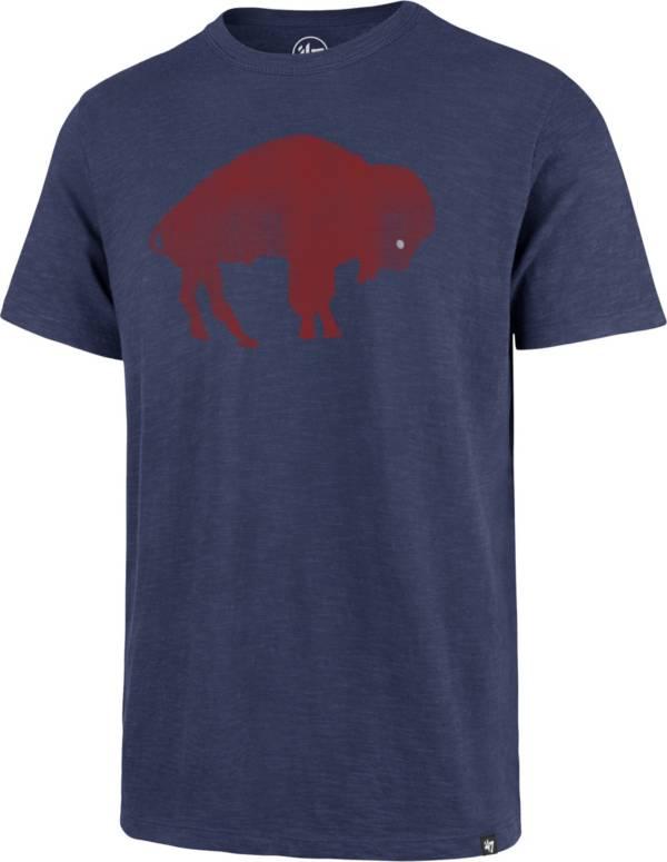 '47 Men's Buffalo Bills Scrum Logo Legacy Royal T-Shirt product image