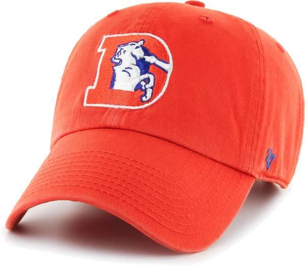 '47 Men's Denver Broncos Legacy Clean Up Adjustable Orange Hat product image