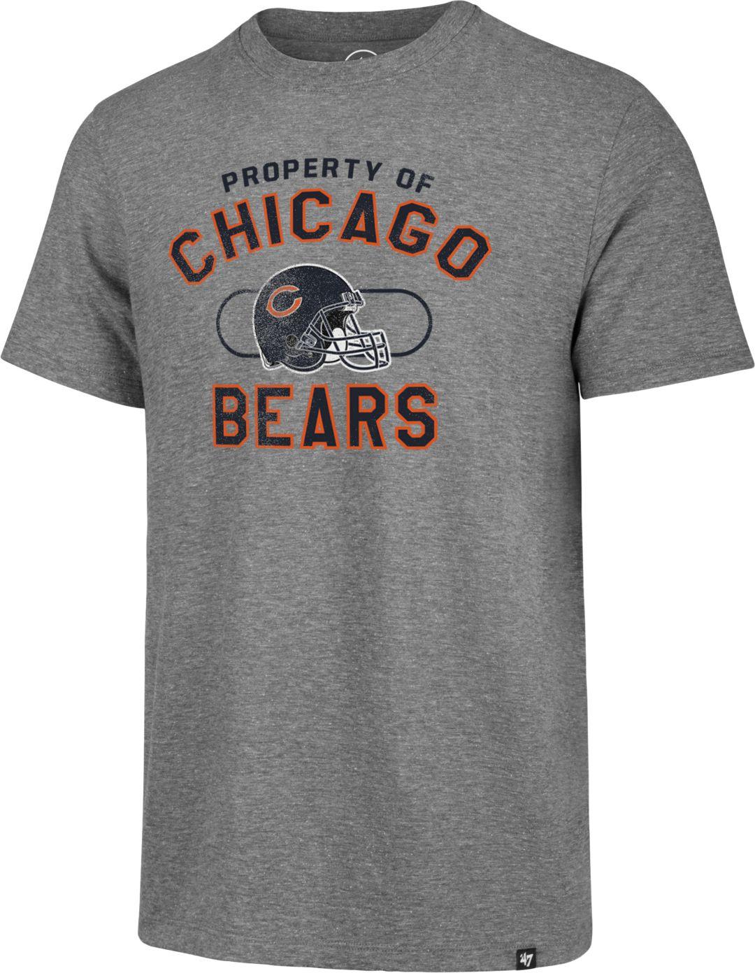 new concept 8dc99 da71c '47 Men's Chicago Bears Match Grey T-Shirt