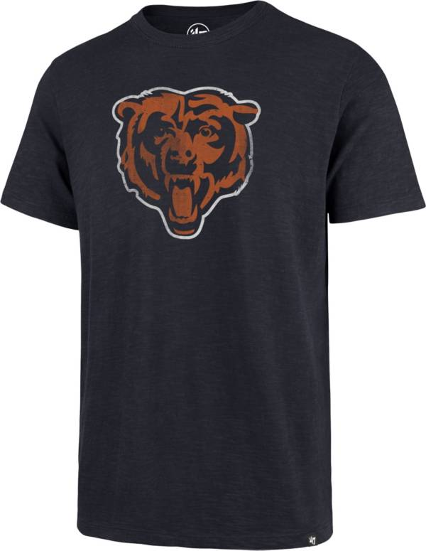 47 Men's Chicago Bears Scrum Logo Navy T-Shirt product image