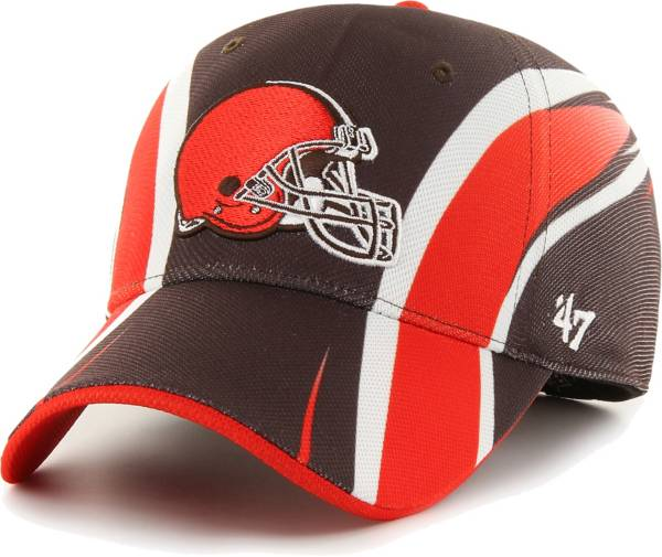 '47 Men's Cleveland Browns Eclipse Solo Brown Stretch Fit Hat product image