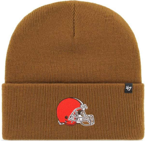 '47 Men's Cleveland Browns Carhartt Brown Knit Hat product image