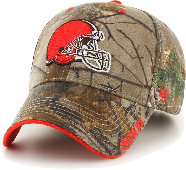 '47 Men's Cleveland Browns Frost Realtree Adjustable Camouflage Hat product image
