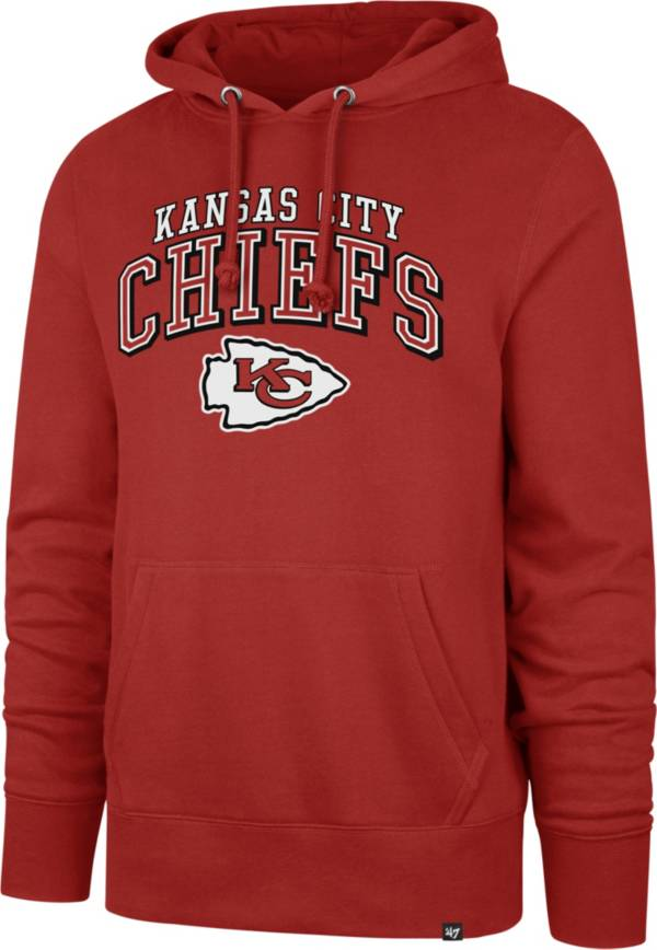 '47 Men's Kansas City Chiefs Headline Red Hoodie product image