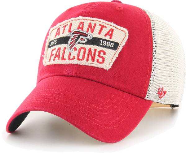 '47 Men's Atlanta Falcons Crawford Clean Up Adjustable Red Hat product image