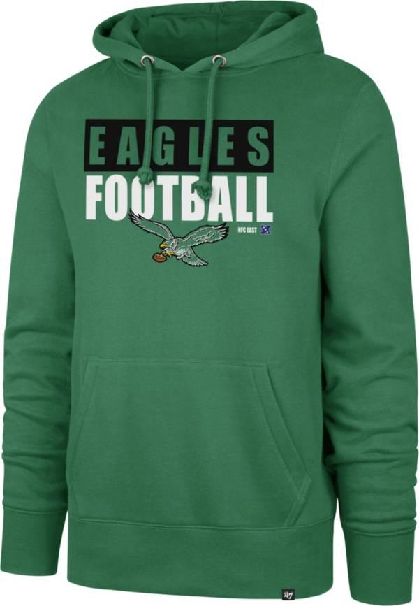 '47 Men's Philadelphia Eagles Legacy Headline Green Hoodie product image