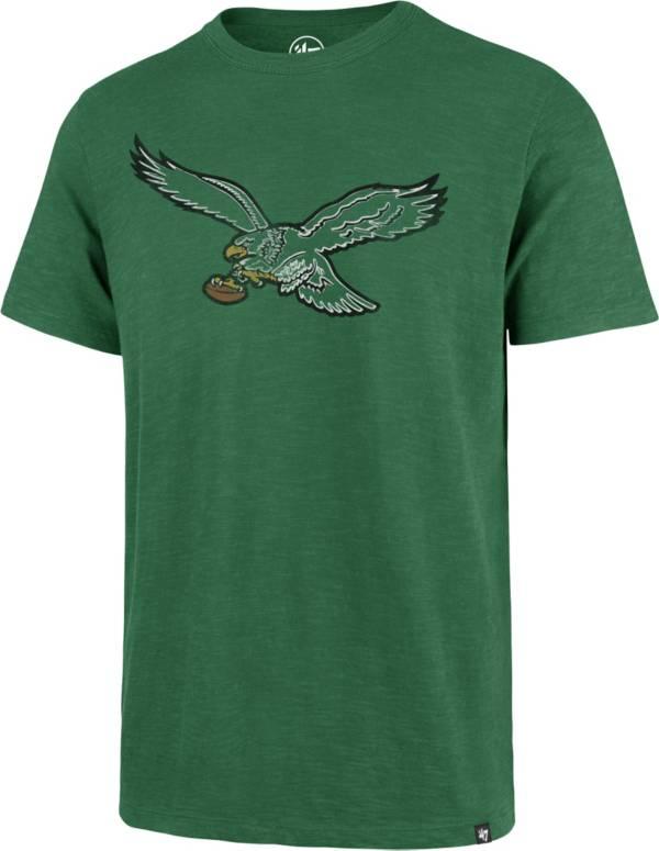 '47 Men's Philadelphia Eagles Scrum Logo Legacy Green T-Shirt product image