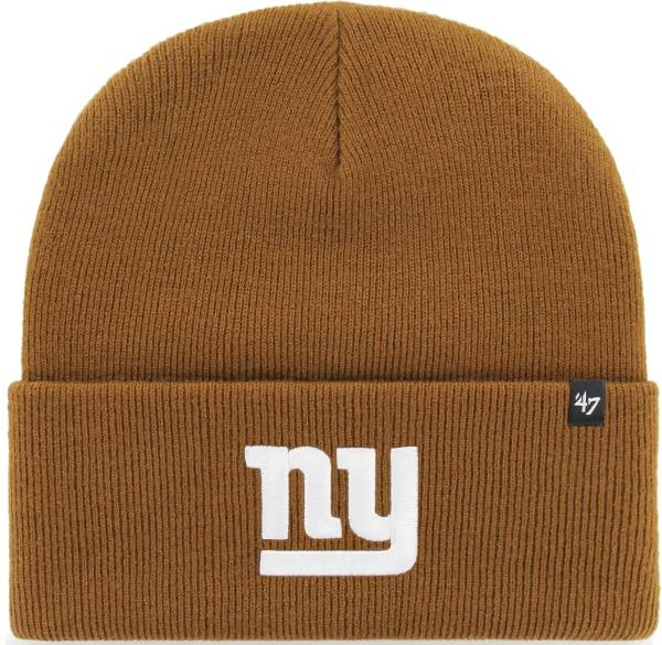 '47 Men's New York Giants Carhartt Brown Knit Hat product image