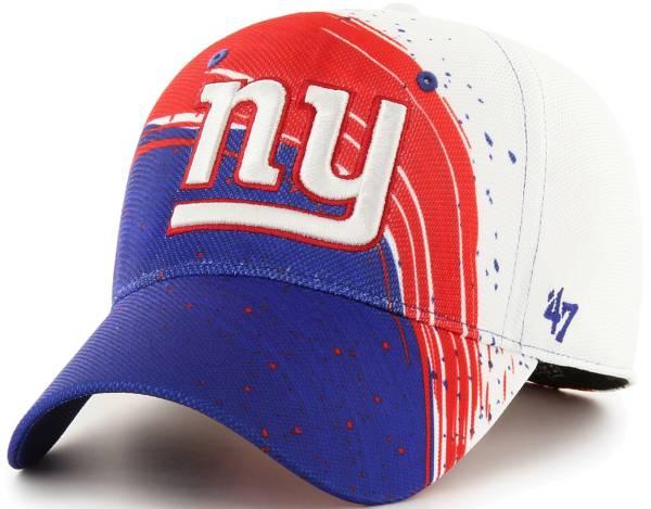 '47 Men's New York Giants Splash Solo Royal Stretch Fit Hat product image