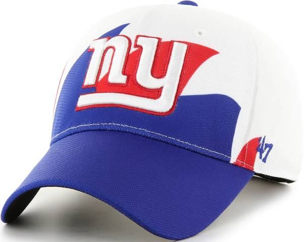 '47 Men's New York Giants Wave Solo White Stretch Fit Hat product image
