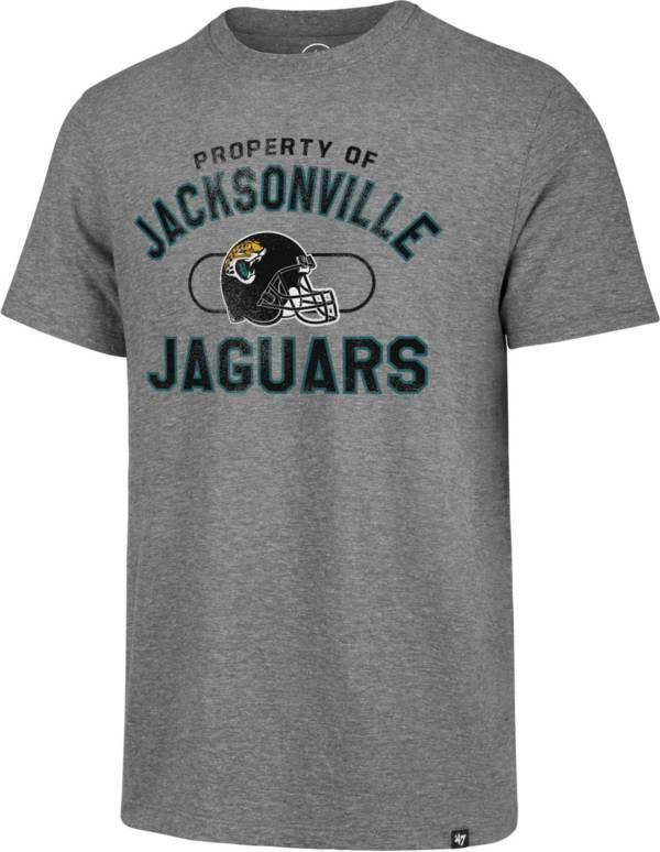 '47 Men's Jacksonville Jaguars Match Grey T-Shirt product image