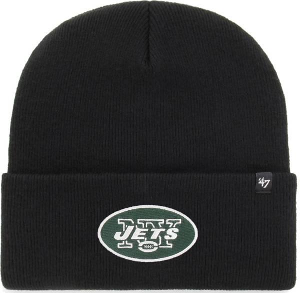 '47 Men's New York Jets Carhartt Black Knit Hat product image