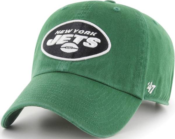'47 Men's New York Jets Clean Up Green Adjustable Hat product image