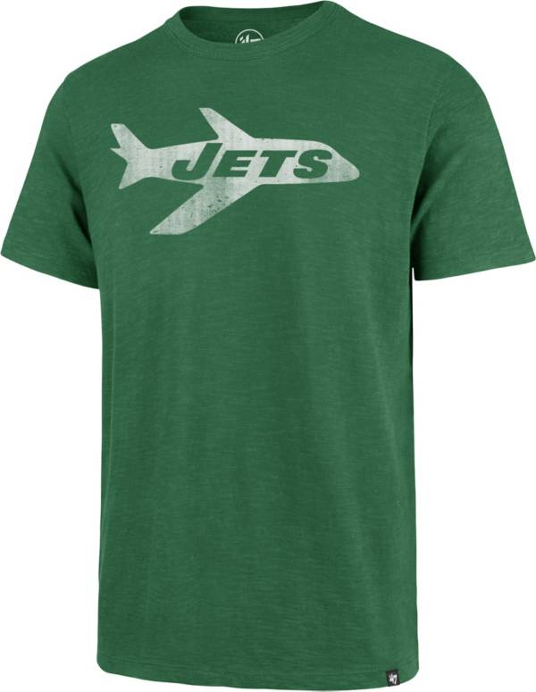 '47 Men's New York Jets Scrum Logo Legacy Green T-Shirt product image