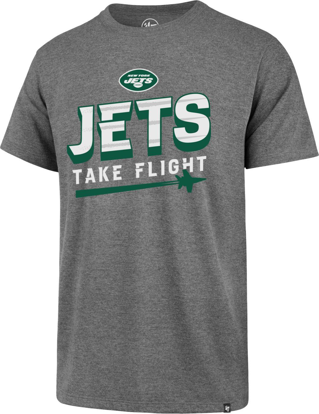 c613c93b '47 Men's New York Jets Take Flight Club Grey T-Shirt