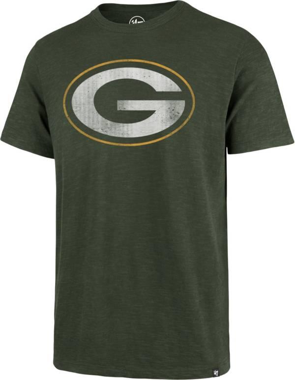 47 Men's Green Bay Packers Scrum Logo Green T-Shirt product image