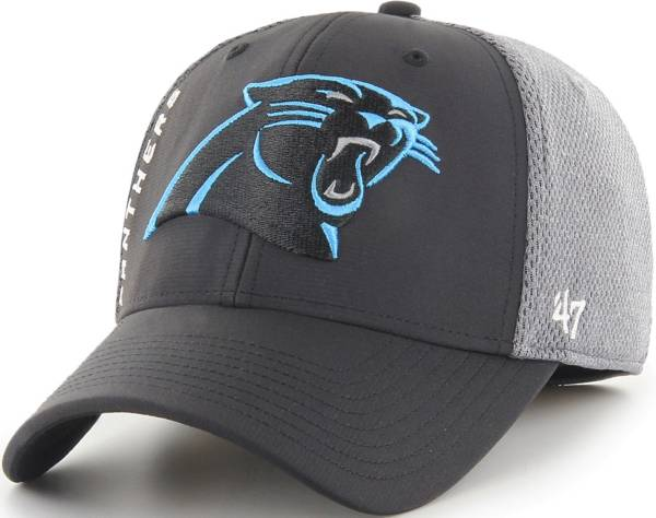 '47 Men's Carolina Panthers Wycliff Contender Stretch Fit Black Hat product image