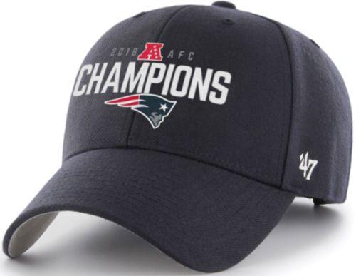 47 Men s AFC Conference Champions New England Patriots MVP Adjustable Hat.  noImageFound. Previous 82a73dfad
