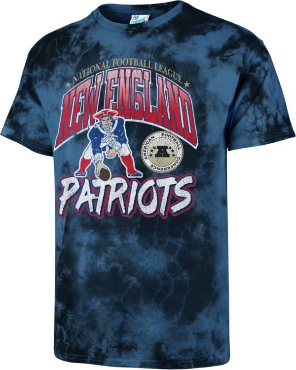 '47 Men's New England Patriots Tubular Tie Dye T-Shirt product image