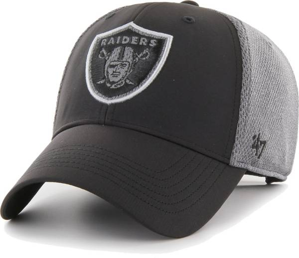 '47 Men's Las Vegas Raiders Arlo MVP Adjustable Black Hat product image