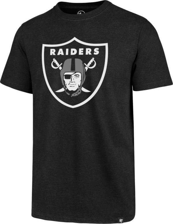 '47 Men's Las Vegas Raiders Imprint Club Black T-Shirt product image