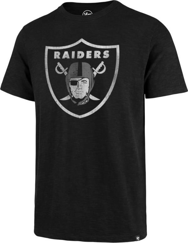 47 Men's Las Vegas Raiders Scrum Logo Black T-Shirt product image