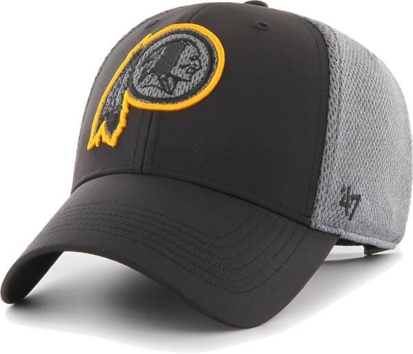 '47 Men's Washington Redskins Arlo MVP Adjustable Black Hat product image