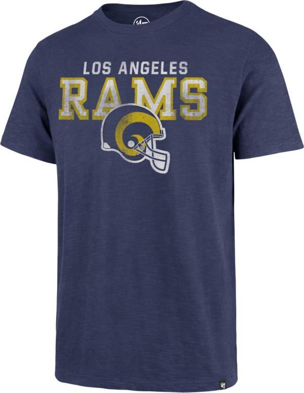 '47 Men's Los Angeles Rams Legacy Scrum Logo Royal T-Shirt product image
