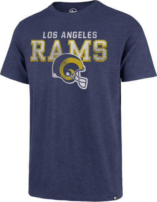 47 Men s Los Angeles Rams Legacy Scrum Logo Royal T-Shirt. noImageFound.  Previous f5032cc4b