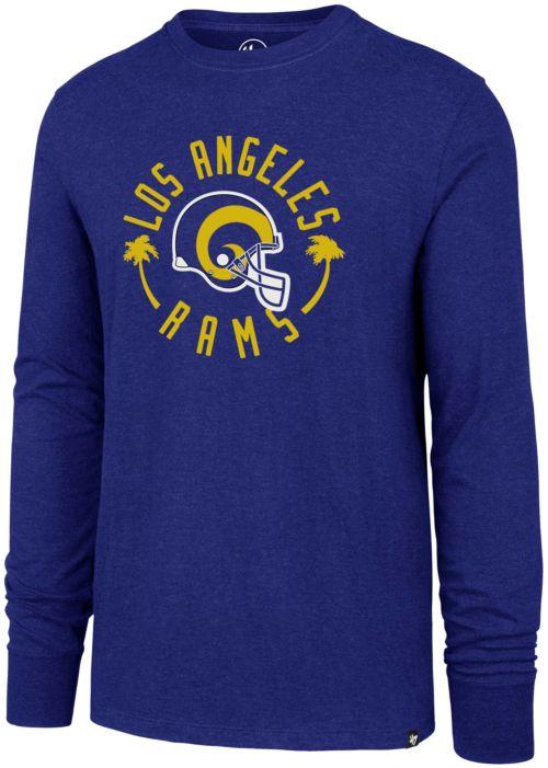 47 Men s Los Angeles Rams Throwback Club Royal Long Sleeve Shirt.  noImageFound. Previous 74ef9c021