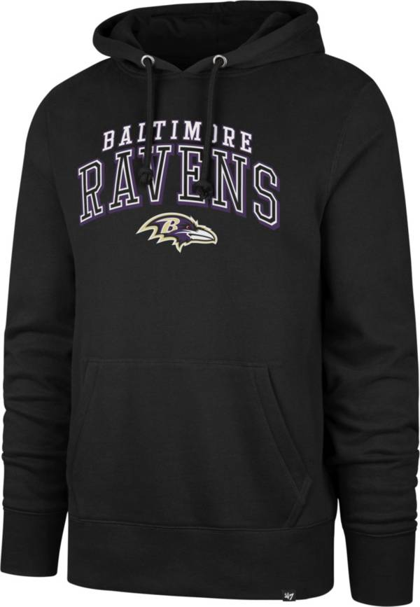 '47 Men's Baltimore Ravens Headline Black Hoodie product image