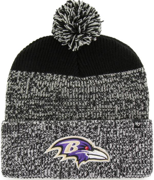 47 Men's Baltimore Ravens Static Cuffed Knit Hat product image