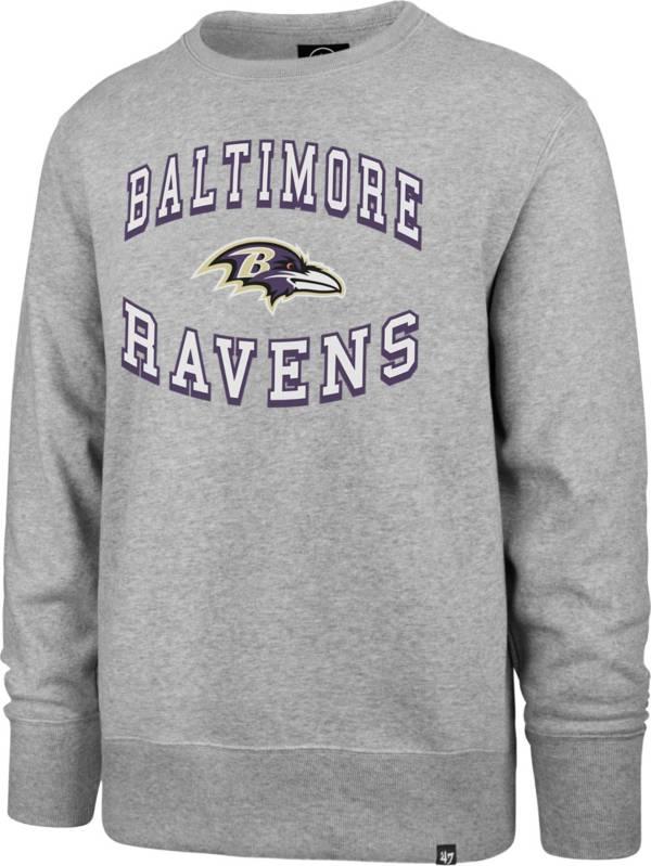 '47 Men's Baltimore Ravens Headline Grey Crew product image