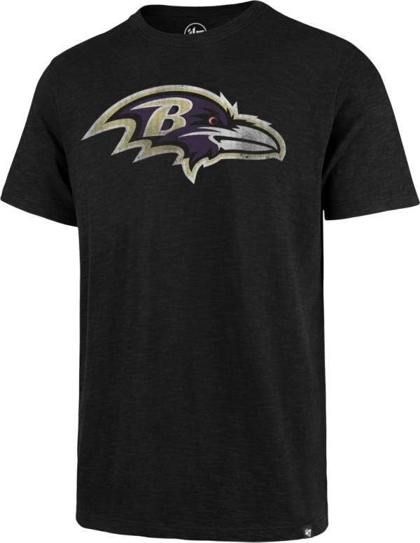 47 Men's Baltimore Ravens Scrum Logo Black T-Shirt product image